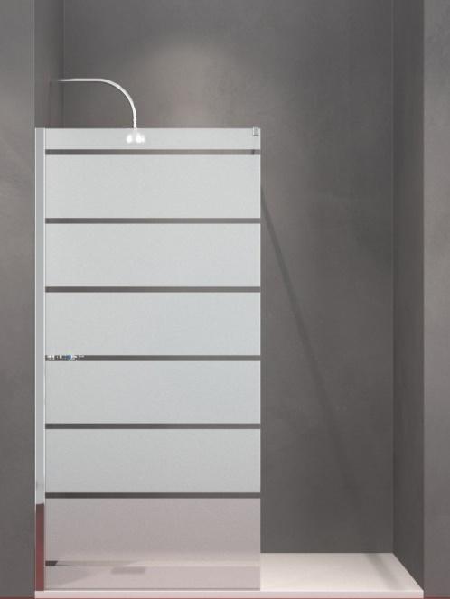 Siebdruck-Glas B-Line