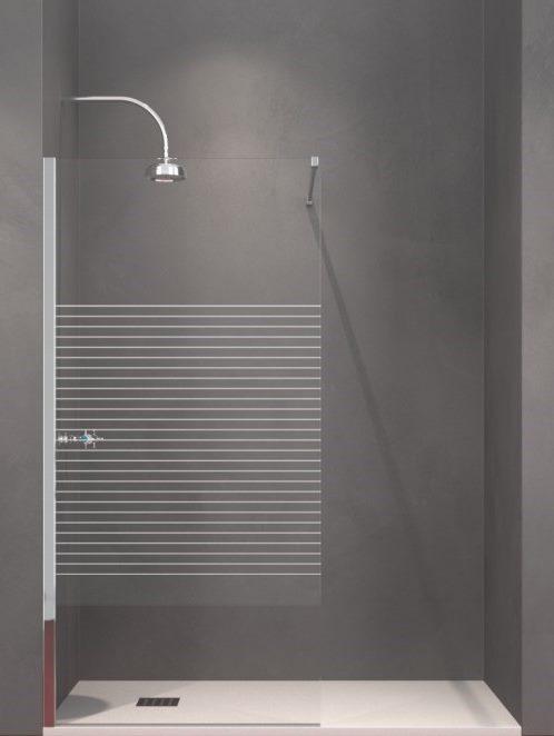 Siebdruck-Glas L-Line
