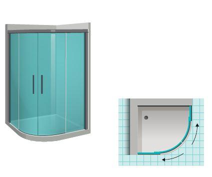 expertbath de shawa e60 duschkabine nach ma. Black Bedroom Furniture Sets. Home Design Ideas
