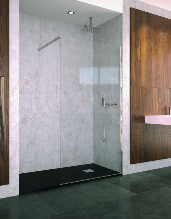 expertbath de walk in p10 duschkabine nach ma. Black Bedroom Furniture Sets. Home Design Ideas